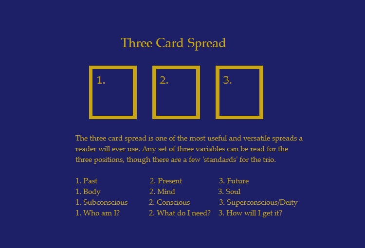 3 card spread tarot